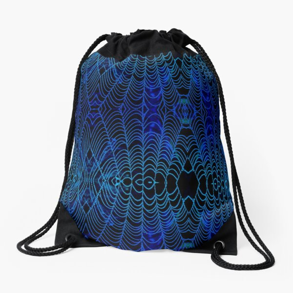 Drenched Chill - Macro Drawstring Bag