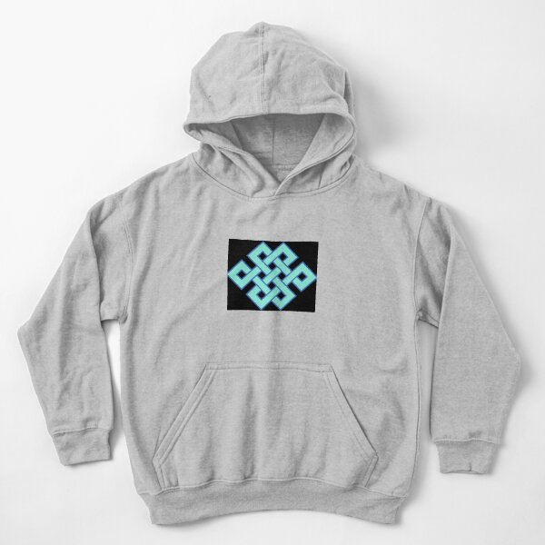 Buddhist Endless Knot Kids Pullover Hoodie