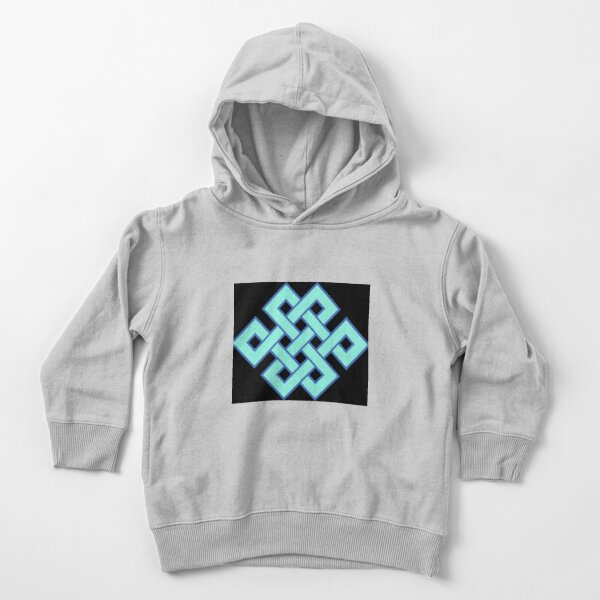 Buddhist Endless Knot Toddler Pullover Hoodie