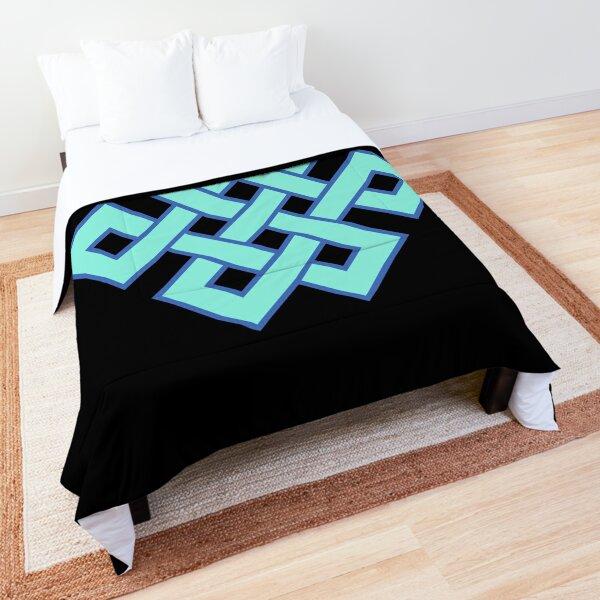 Buddhist Endless Knot Comforter