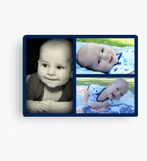 Charlie's Naming Day Canvas Print