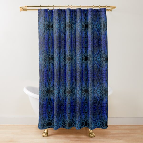 Drenched Chill - Micro Shower Curtain