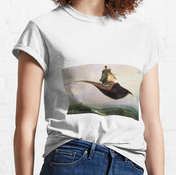 Viktor Mikhailovich Vasnetsov, Виктоp Михайлович Васнецов, Flying Carpet,   Ковёр-самолёт,  Classic T-Shirt