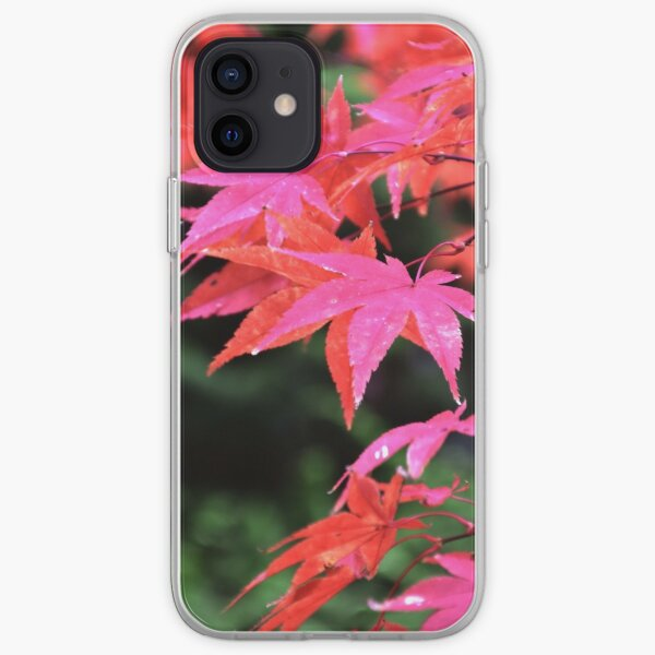 Autumn leaves in Mount Macedon iPhone Soft Case