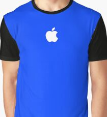 Apple logo - Blue Version Graphic T-Shirt