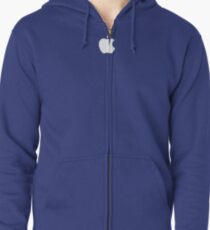 Apple logo - Apple Store Shirt Zipped Hoodie
