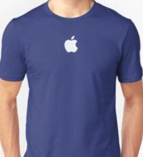 Apple logo - Blue Version Unisex T-Shirt