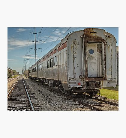 Disappearing Railroad Blues  Photographic Print