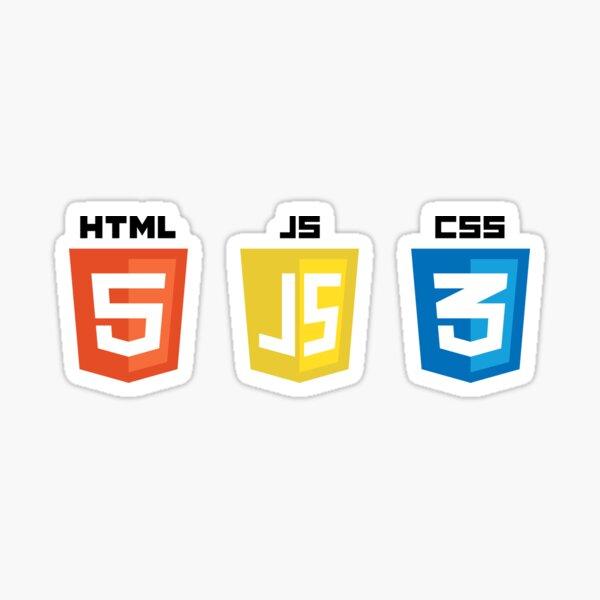 HTML JS CSS Sticker