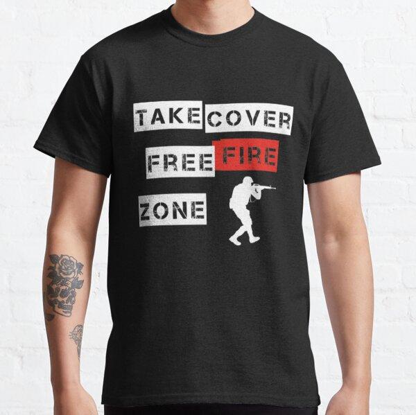Camiseta Freefire Free Fire Zone Camiseta clásica