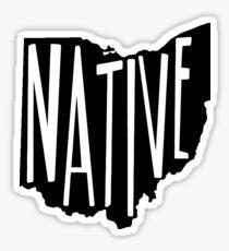 Ohio Native Sticker