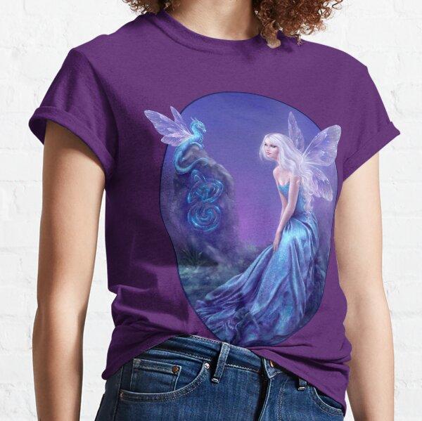 Luminescent Fairy & Dragon Art Classic T-Shirt