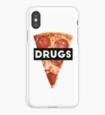 Drugs = Pizza iPhone Case/Skin