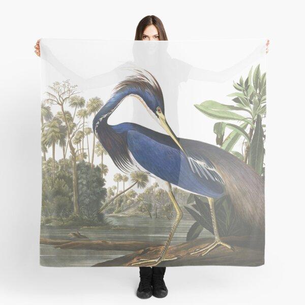 Tricolored Heron - John James Audubon Scarf