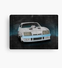 Interceptor Time Machine Canvas Print