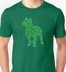 St. Patrick's Shamrock Pitbull Unisex T-Shirt