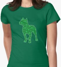 St. Patrick's Shamrock Pitbull T-Shirt