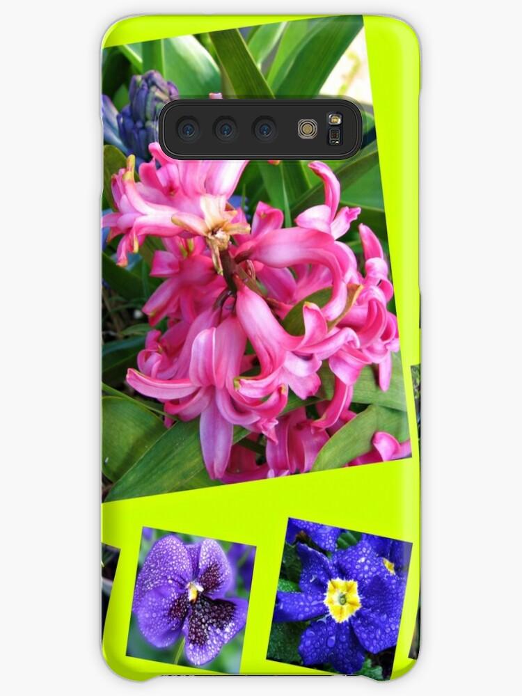 Verrückter Frühling Blumen Collage von BlueMoonRose