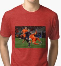 INIESTA - FIFA WORLD CUP 2010 Tri-blend T-Shirt