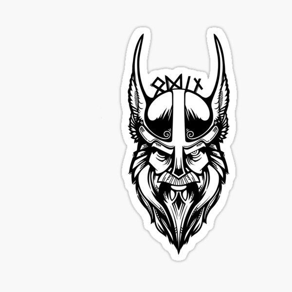 THORS HAMMER NORDIC PRIDE DECAL STICKER VINYL norse pagan asatru odin thor runes