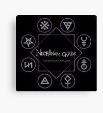 NecronomiCards - 1 Canvas Print