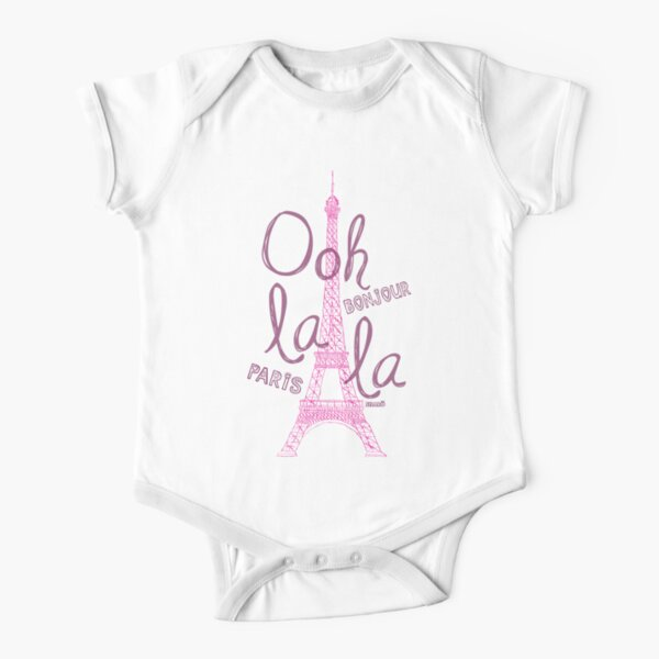 Ooh la la! Short Sleeve Baby One-Piece
