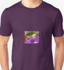 Insect on Purple Flower T-Shirt
