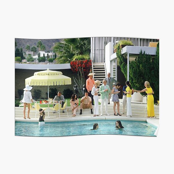party at the pool Poster
