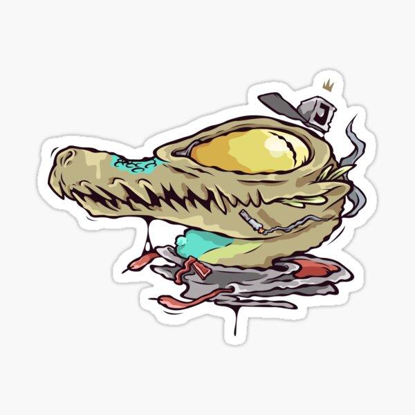 King Kamen Gator Sticker