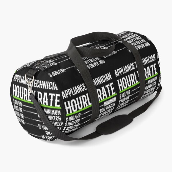 Appliance Technician Hourly Rate Duffle Bag