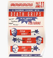 Retro Death Grips Poster