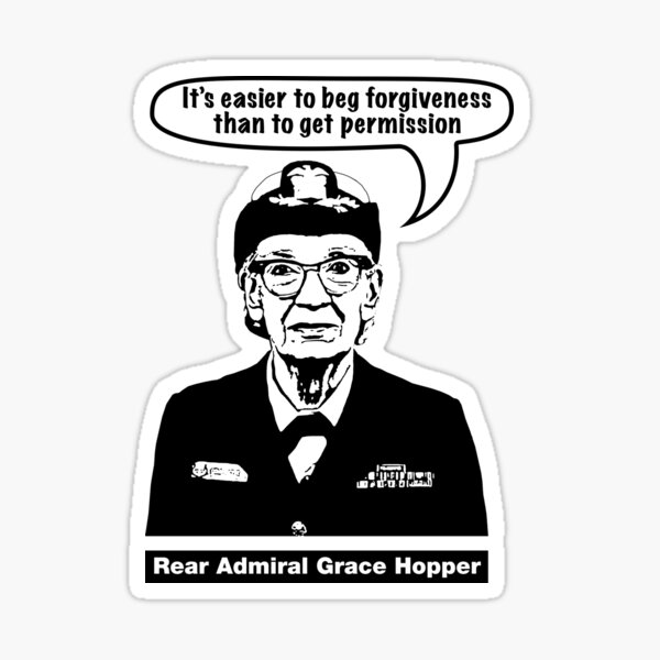 Grace Hopper Sticker