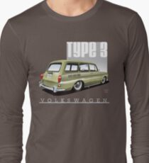 VW Squareback in Safari Beige T-Shirt