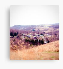 Ghost Town // color Canvas Print