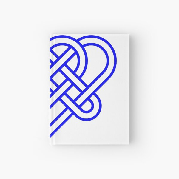 Heart Celtic Knot Hardcover Journal
