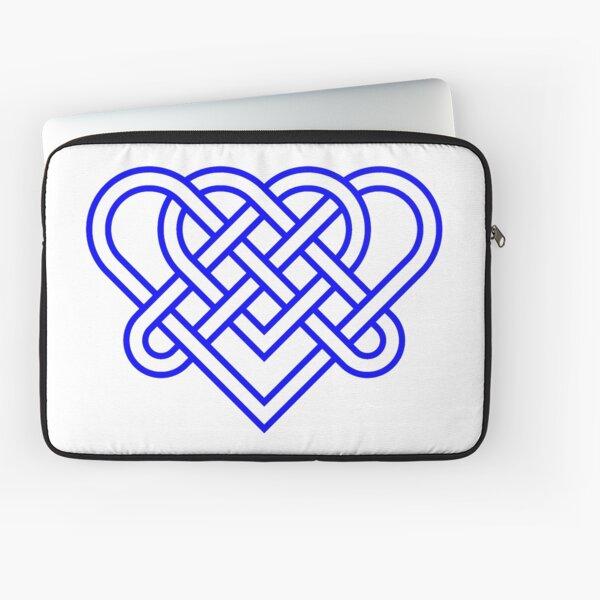 Heart Celtic Knot Laptop Sleeve