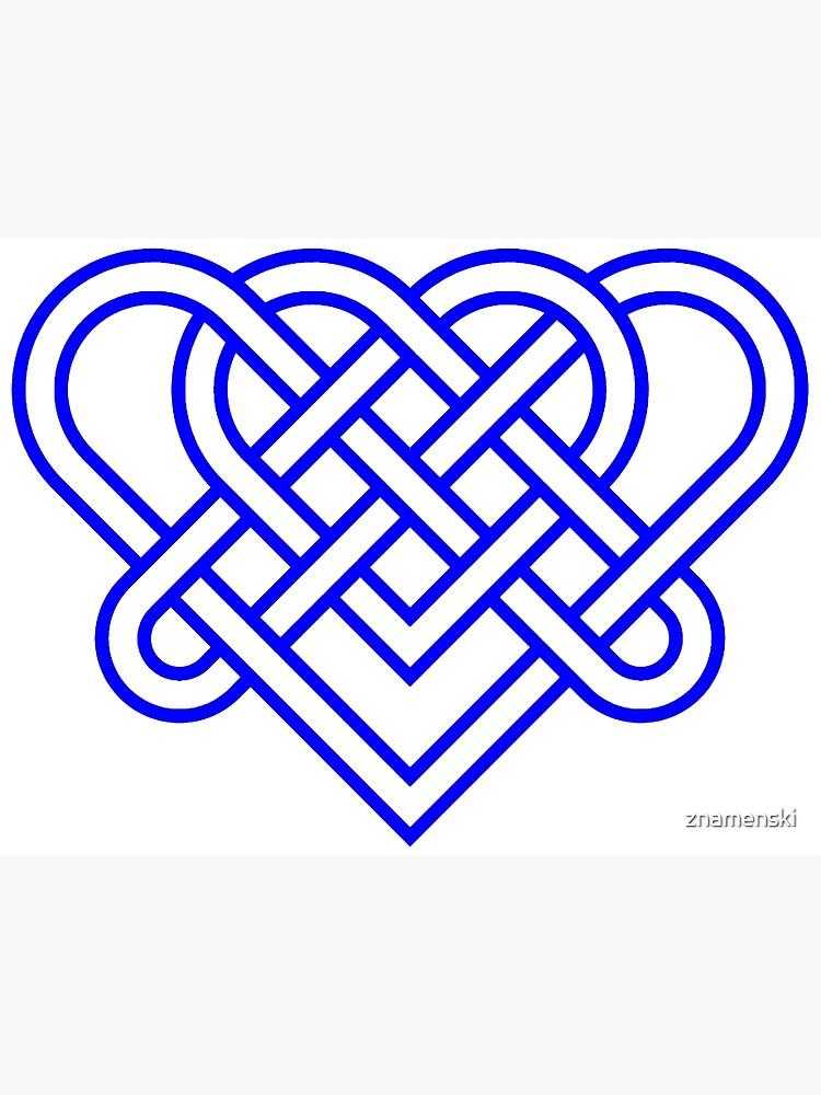 Heart Celtic Knot by znamenski