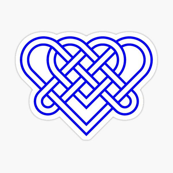 Heart Celtic Knot Sticker
