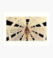 Kubrick's Space Odyssey Art Print