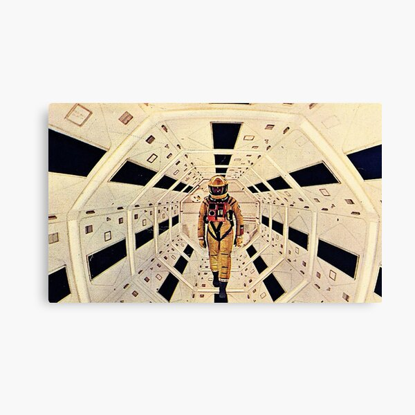 Kubrick's Space Odyssey Canvas Print