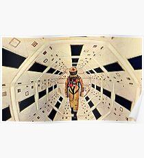 Póster La Odisea del Espacio de Kubrick