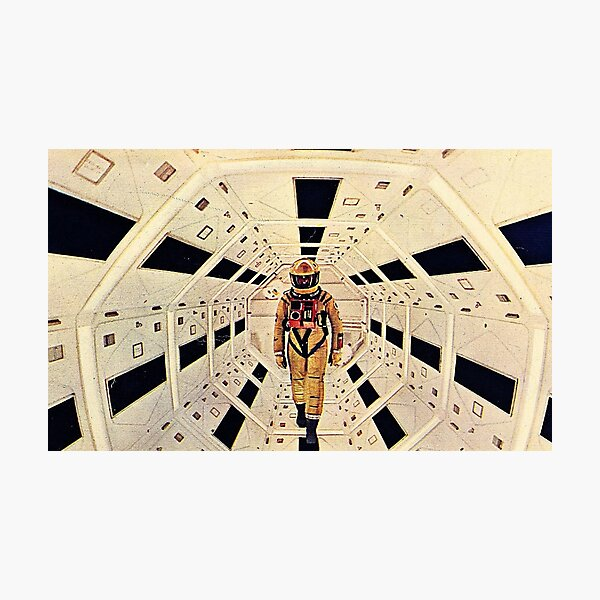 Kubrick's Space Odyssey Photographic Print