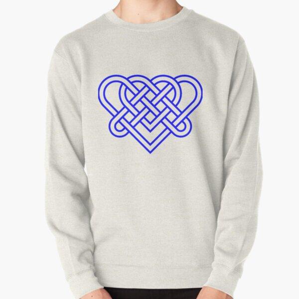 Heart Celtic Knot Pullover Sweatshirt