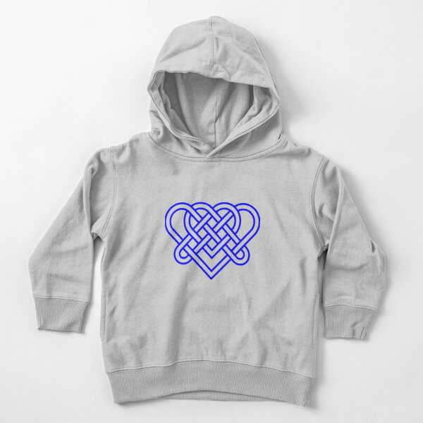 Heart Celtic Knot Toddler Pullover Hoodie