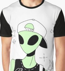 ALIEN 004 Graphic T-Shirt