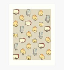 CHEESE DOODLES HOORAY!! Art Print