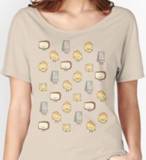 CHEESE DOODLES HOORAY!! Women's Relaxed Fit T-Shirt