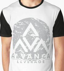 ALVANCA - LEVERAGE Graphic T-Shirt