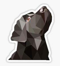 Schwarzes Labor Sticker