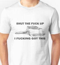 Wolf of Wall Street Countach STFU Unisex T-Shirt